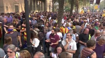 Parlament Katalonii zagłosował za niepodległością regionu
