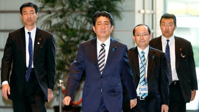 Shinzo Abe po raz trzeci premierem Japonii