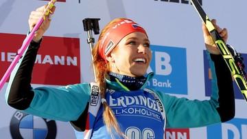 2017-02-10 MŚ w biathlonie: Złoto Koukalovej, najlepsza z Polek na 38. miejscu