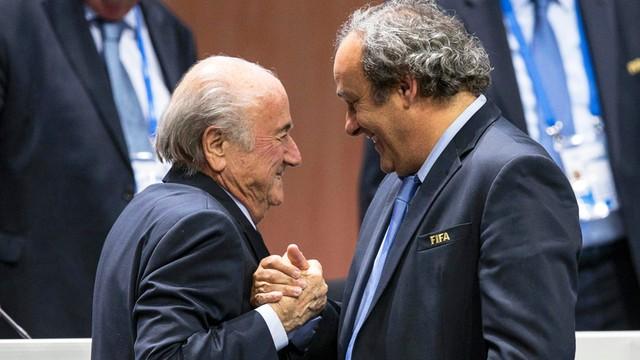 Afera FIFA - Blatter oskarża Platiniego o prowokację