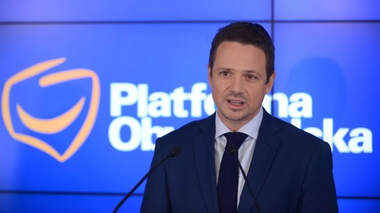 Trzaskowski: Gronkiewicz-Waltz powinna była reagować po doniesieniach ws. afery reprywatyzacyjnej