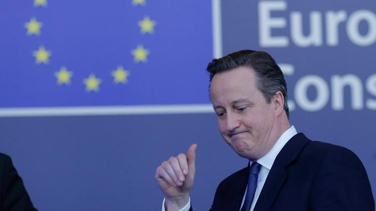 Cameron: ogłoszę datę referendum po sobotnim posiedzeniu rządu