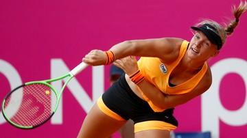 2017-07-21 Turniej WTA w Gstaad: Bertens zagra w półfinale