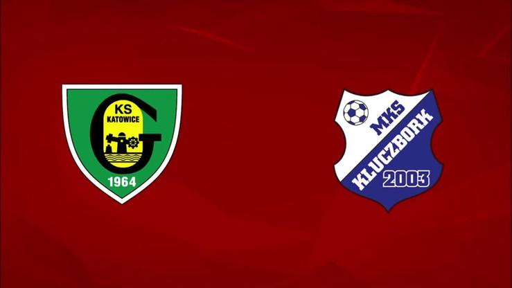 2015-08-24 GKS Katowice - MKS Kluczbork 5:1. Skrót meczu