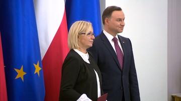 28-12-2016 22:20 Przyłębska: TK musi odejść od polityki; dobrze, że nie jest jednolity