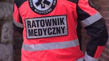 Pobicie ratownika w Jastrzębiu-Zdroju. Sprawcą był pacjent, prawdopodobnie po zażyciu dopalaczy