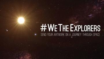 21-02-2016 18:29 NASA zabierze w kosmos dzieła internautów. W kapsule czasu