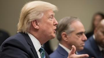 """17-03-2017 16:30 """"Koreańczycy ogrywają Stany Zjednoczone od wielu lat. Chiny niewiele zrobiły, by pomóc"""". Trump krytykuje Koreę Płn"""