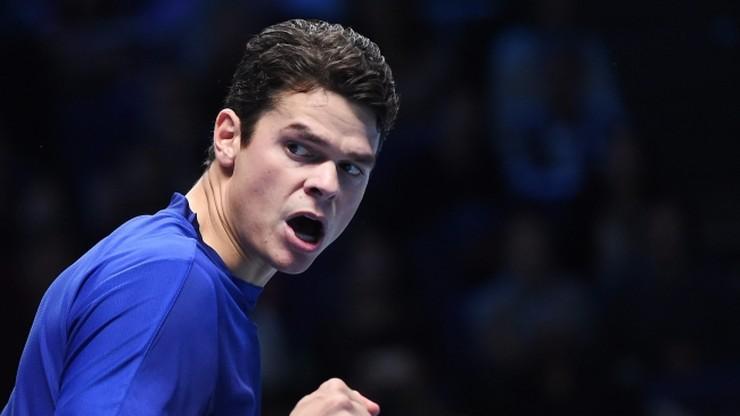 ATP World Tour Finals: Raonic pokonał Monfilsa