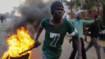 09-08-2017 22:00 Powyborcze starcia w Kenii. Policja zastrzeliła dwie osoby, jedna zginęła od ataku maczetą