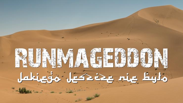 Runmageddon wybiega na Saharę