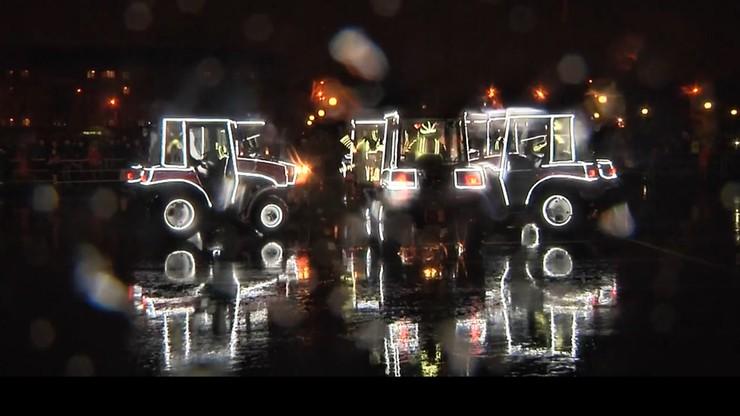 W Mińsku wystawiono balet na traktorach