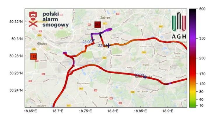 Zatrważający stan jakości powietrza w Małopolsce i na Śląsku. Najgorzej na osiedlach domów jednorodzinnych