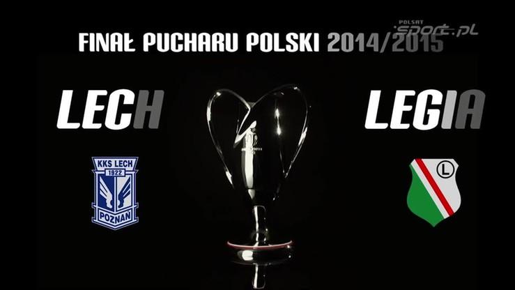 Legia - Lech 2:1. Skrót finału Pucharu Polski