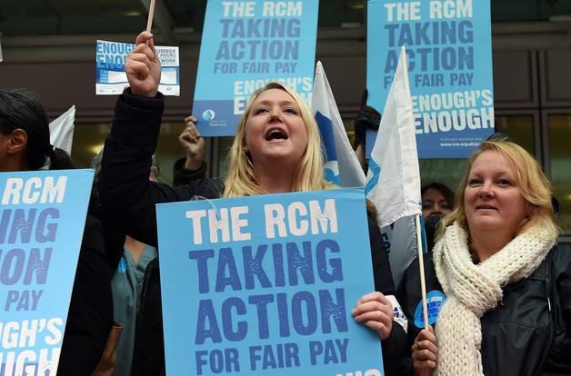 Wielka Brytania: strajkują pracownicy służby zdrowia