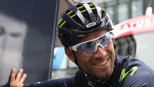 Tour de France - Valverde doznał złamania rzepki