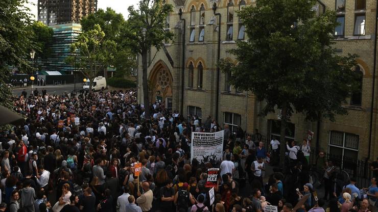"""""""Polityka oszczędności zabija"""". Kilkutysięczne protesty w Londynie"""
