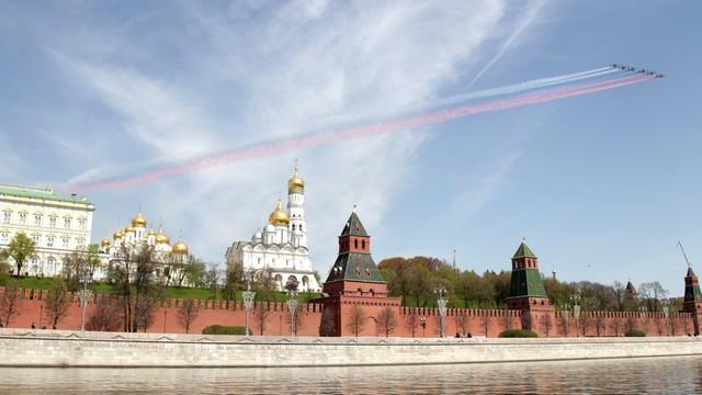 Rosja. 82 proc. Rosjan uważa, że Zachód prowadzi wobec Rosji wrogą politykę