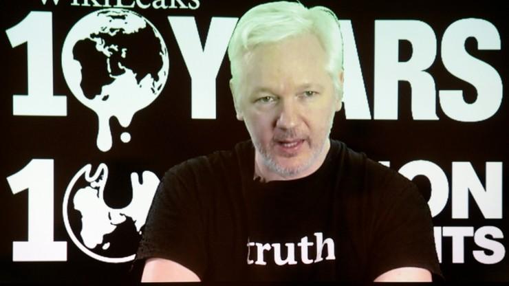 Assange: ujawnimy milion dokumentów m.in. związanych z wyborami w USA