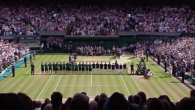 Dekoracja po żeńskim finale Wimbledonu