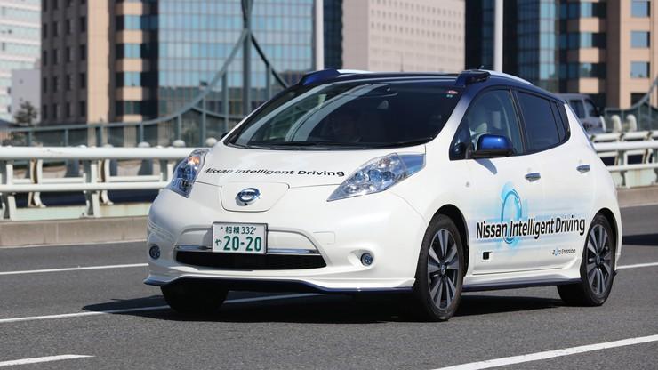 Nissan obiecał więcej niż 10 modeli autonomicznych aut do 2020 roku