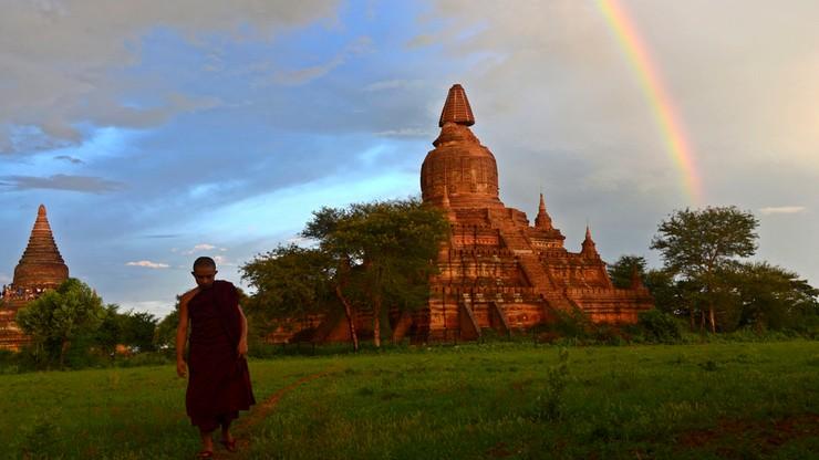 Potężne trzęsienie ziemi w Birmie. Uszkodzone zabytkowe budowle