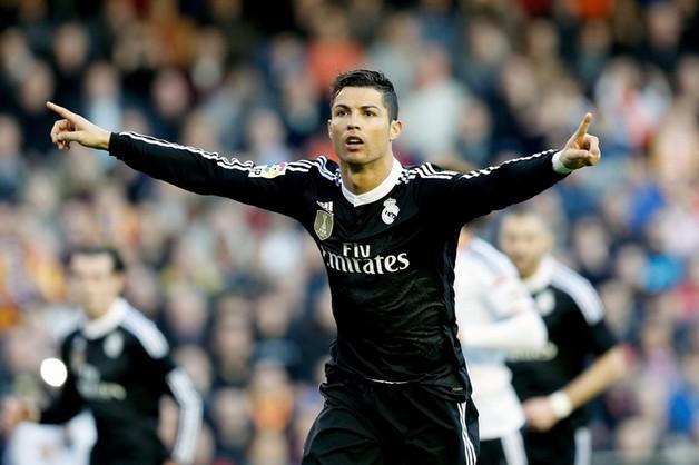 Ronaldo i Suarez najlepszymi strzelcami 2014 roku