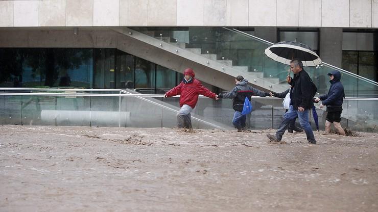 Ulewy w Chile. Jedna osoba zginęła, miliony bez wody pitnej
