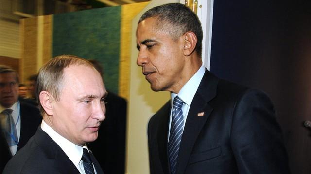 Obama i Putin rozmawiali w Paryżu o Syrii i Ukrainie