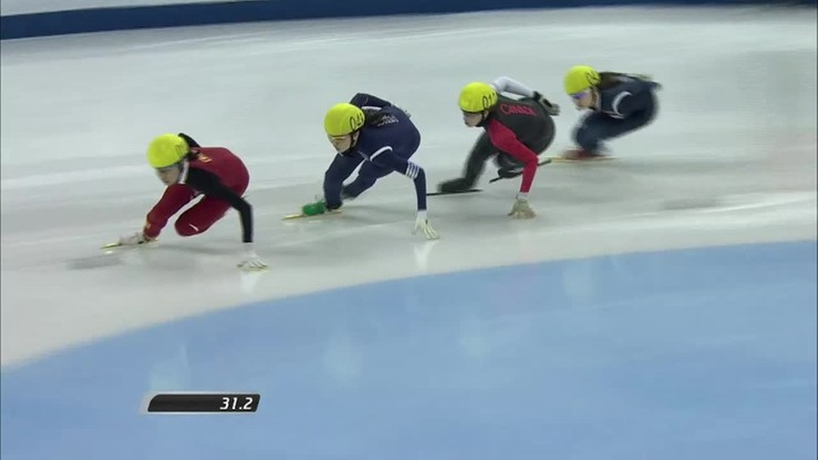 Seul - ostatnie w tym roku zawody Pucharu Świata w short tracku