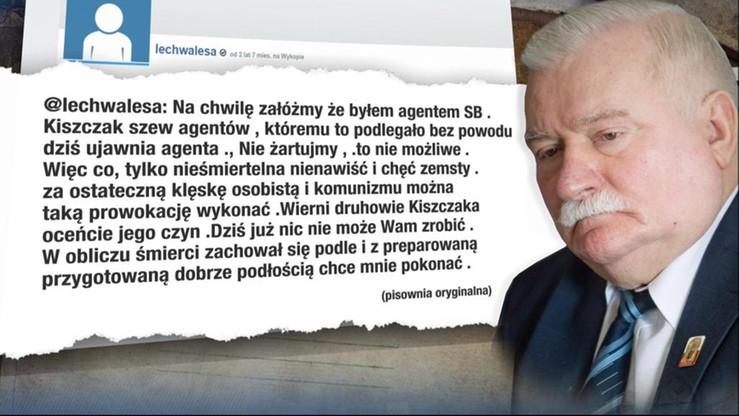 Nowy wpis Wałęsy: Na chwilę załóżmy, że byłem agentem