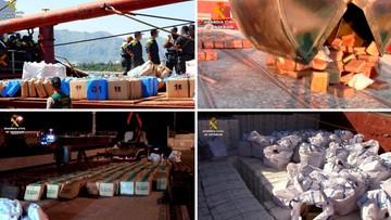 11-10-2016 17:02 Przemycali haszysz na panamskim statku. Hiszpańska gwardia skonfiskowała blisko 20 ton narkotyku