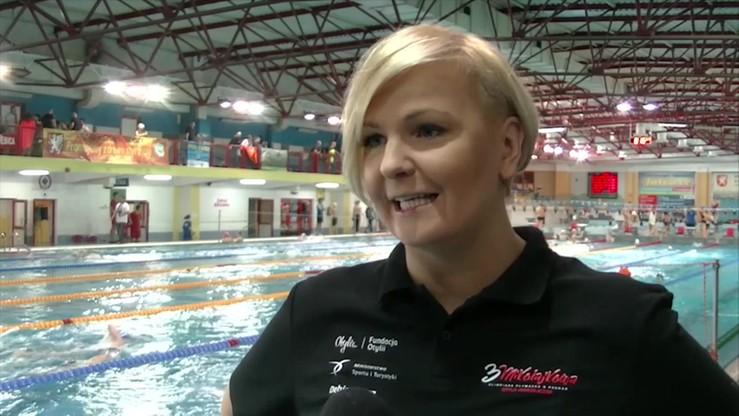Otylia Jędrzejczak: W pływaniu jest wiele piękna