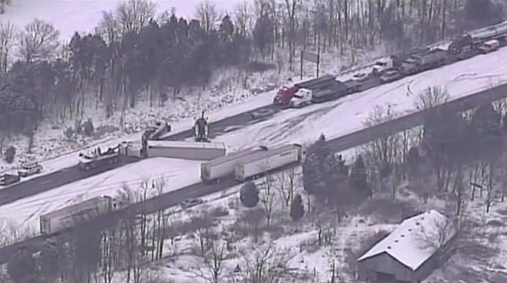 USA: śnieżyce na północnym wschodzie kraju, będzie jeszcze gorzej