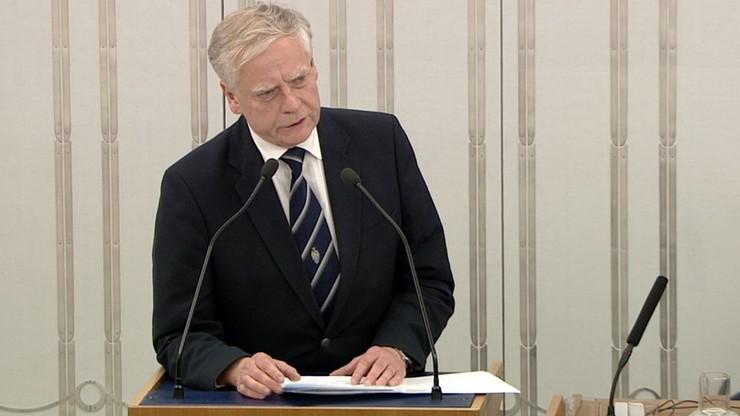 Senator PiS zgłosił pięć poprawek do nowej ustawy o SN. Trwa debata