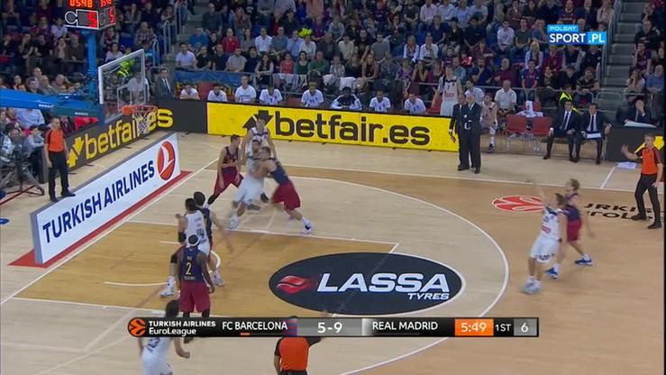 2016-11-18 FC Barcelona Lassa - Real Madryt 63:102. Skrót meczu