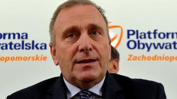 25-11-2017 12:02 Schetyna: premier lub szef PiS powinni wyeliminować Macierewicza