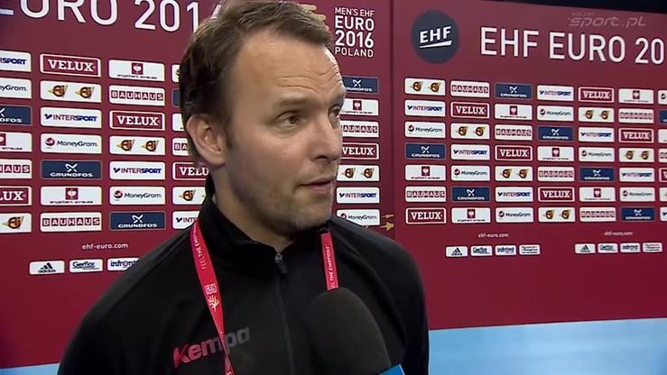 Trener Niemców: Razem z Norwegią popłynęliśmy na jednej fali