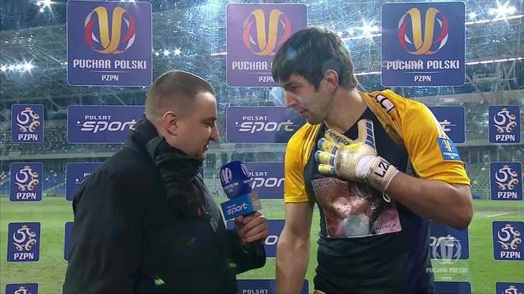 Kuciak: Chcę zagrać z Błękitnymi w finale!