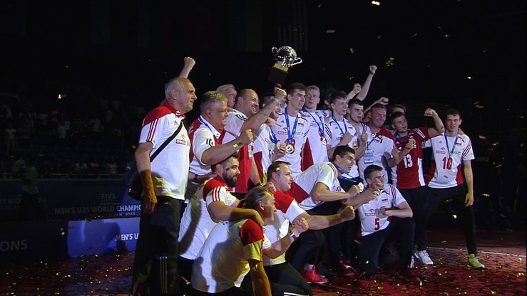 Polacy mistrzami świata! Ceremonia wręczenia medali