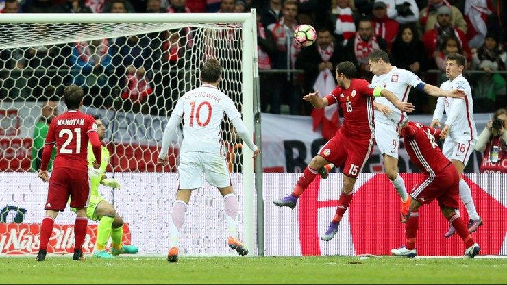 El. MŚ 2018: niesamowity Lewandowski ratuje naszą kadrę. Gol w ostatnich sekundach meczu!