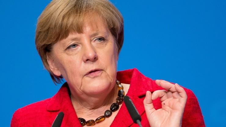 Merkel traci poparcie. Powodem są imigranci