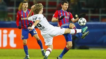 2016-11-22 Liga Mistrzów: CSKA  i Bayer podzieliły się punktami po zaciętym meczu
