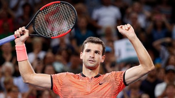 2017-01-08 ATP w Brisbane: Zwycięstwo Dimitrowa