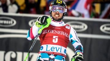 2016-11-13 Hirscher wygrał slalom w Levi