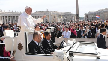 03-05-2017 11:23 Papież Franciszek w święto Konstytucji 3 Maja: niech żyje Polska