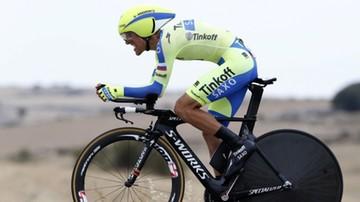 2015-09-09 Vuelta a Espana: Bodnar drugi na czasówce, Majka stracił podium