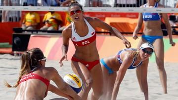 09-08-2016 20:39 Rio: dwa mecze i awans. Polskie siatkarki plażowe w 1/8 finału