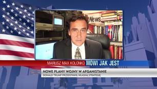 Mariusz Max Kolonko - Nowa strategia Trumpa w Afganistanie