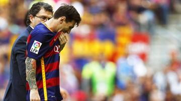 2015-11-02 Messi może nie zagrać w El Clasico!